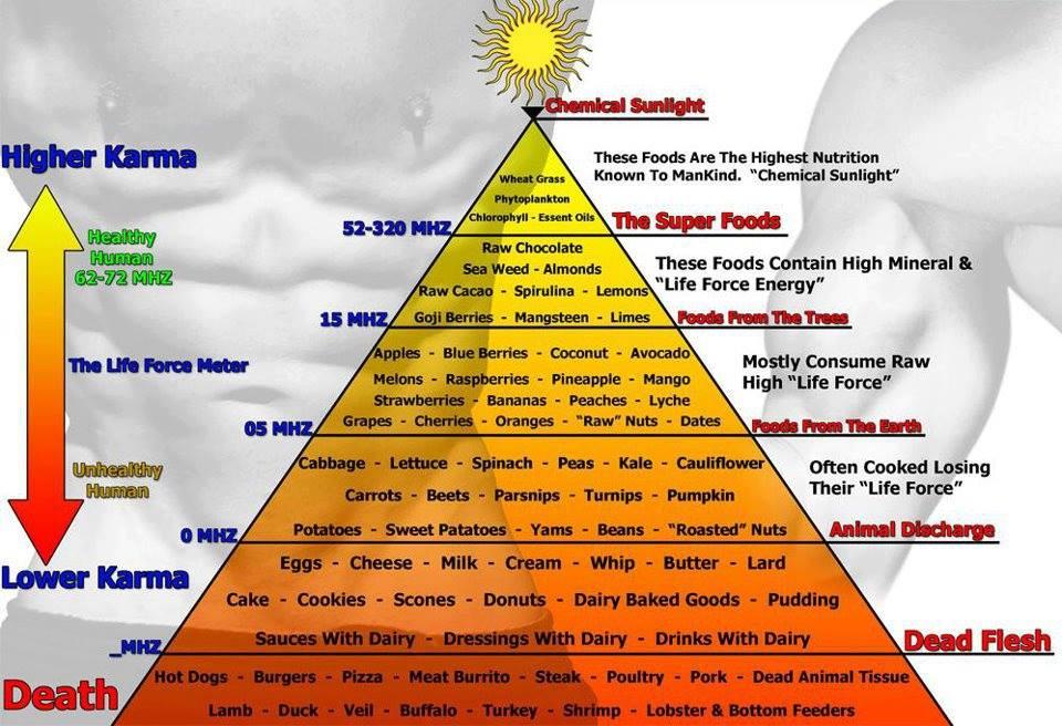 Muốn không ốm đau bệnh tật, hãy ăn thực phẩm tần số cao!